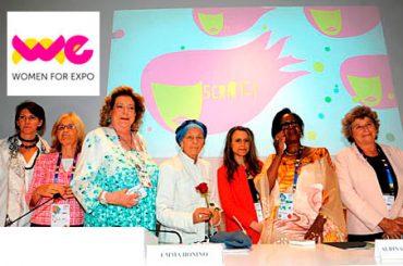 """WOMEN FOR EXPO: LE DONNE """"PROTAGONISTE DELLA NUTRIZIONE"""""""