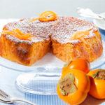 Contro i malanni di stagione, la Kaki Cake con tanta vitamina C
