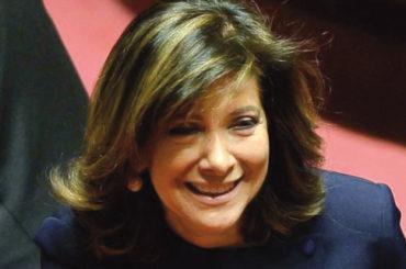 Casellati: la prima donna al Senato, dopo tre presidenti alla Camera