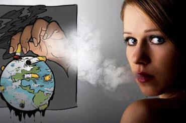 La sigaretta minaccia la salute dell'uomo e… del pianeta
