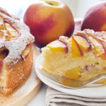 Sazie e leggere, contro il caldo, con la classica Peach Cake