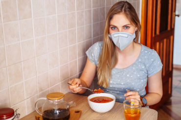 Isolamento: più attenzione ai cibi e alla buona tavola