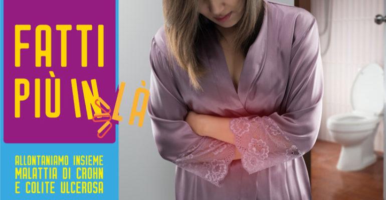 """""""Fatti più in là"""": per informare sulle malattie infiammatorie dell'intestino"""