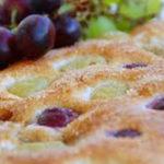 No al colesterolo e via il gonfiore, con la mini focaccia dolce all'uva