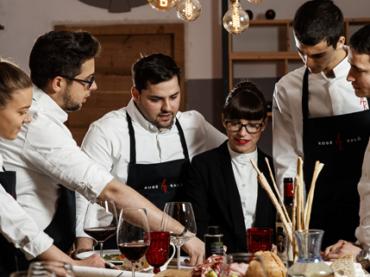 Una serata speciale, con le proposte romantiche di due giovani chef
